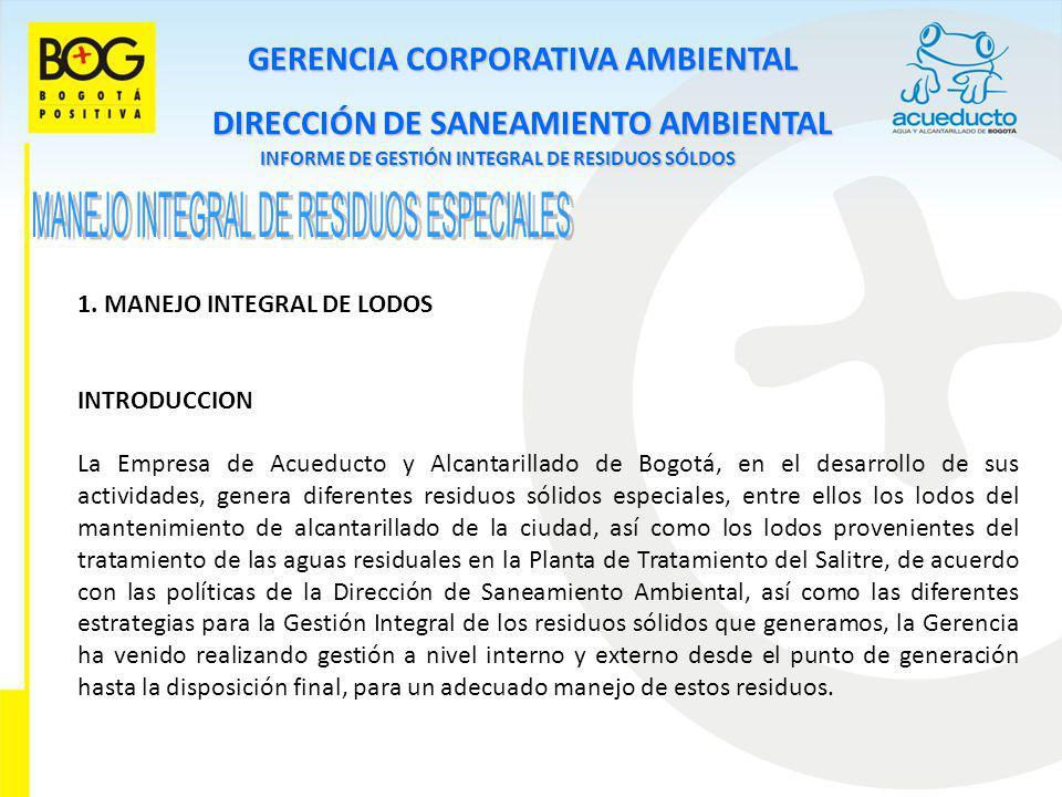 MANEJO INTEGRAL DE RESIDUOS ESPECIALES