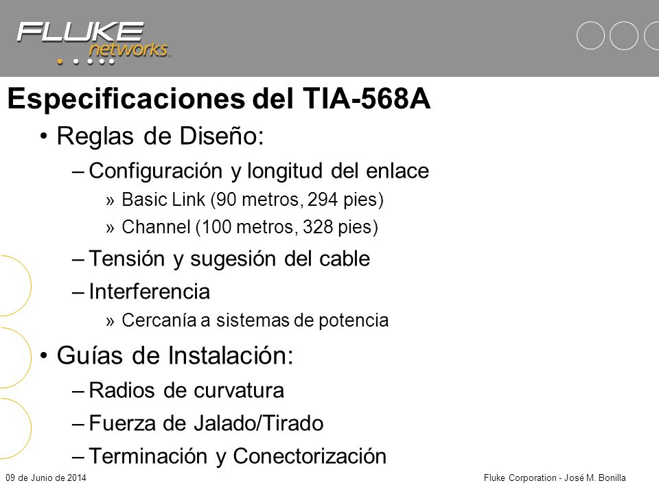 Especificaciones del TIA-568A