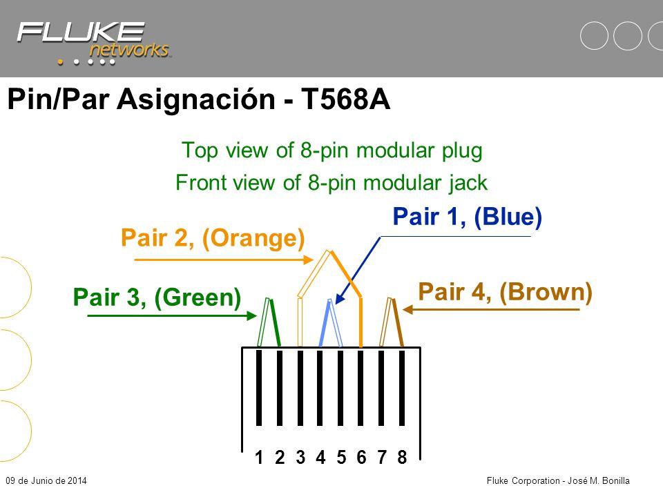 Pin/Par Asignación - T568A