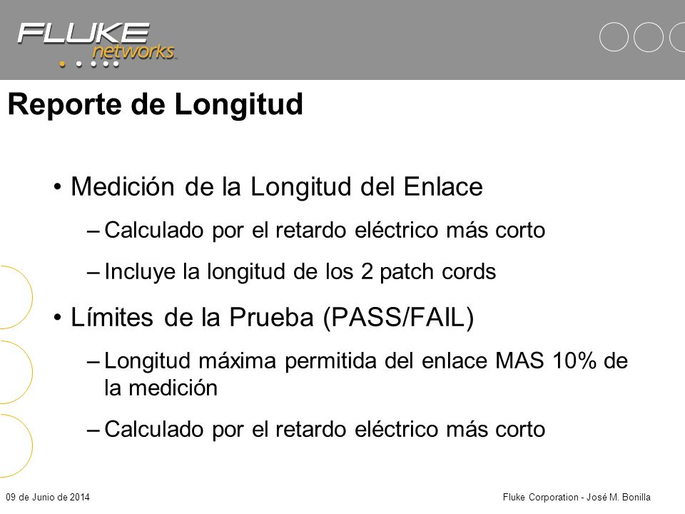 Fluke Corporation - José M. Bonilla