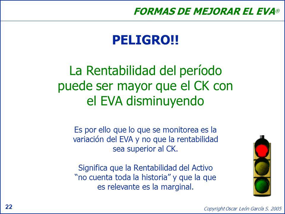 FORMAS DE MEJORAR EL EVA®