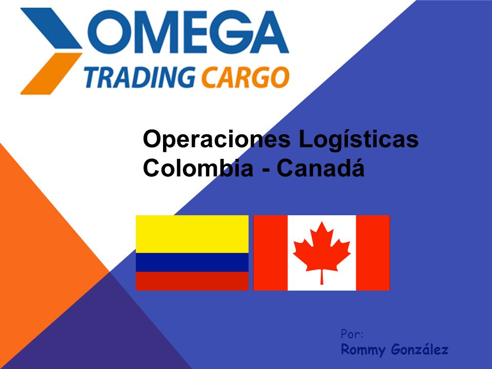 Operaciones Logísticas Colombia - Canadá