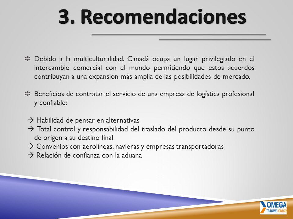 3. Recomendaciones