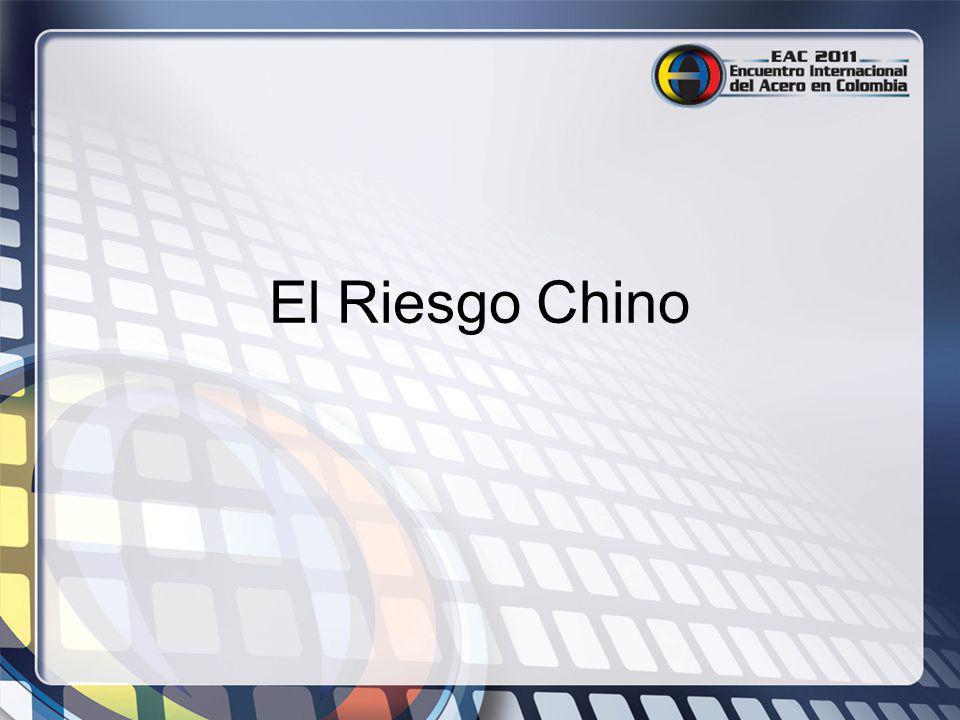 El Riesgo Chino