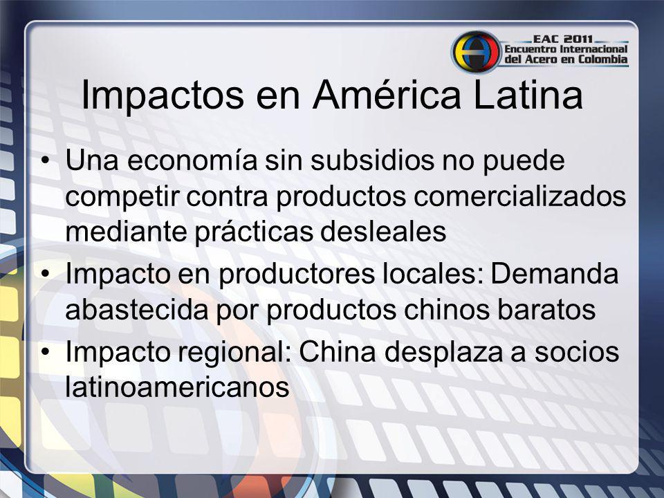 Impactos en América Latina