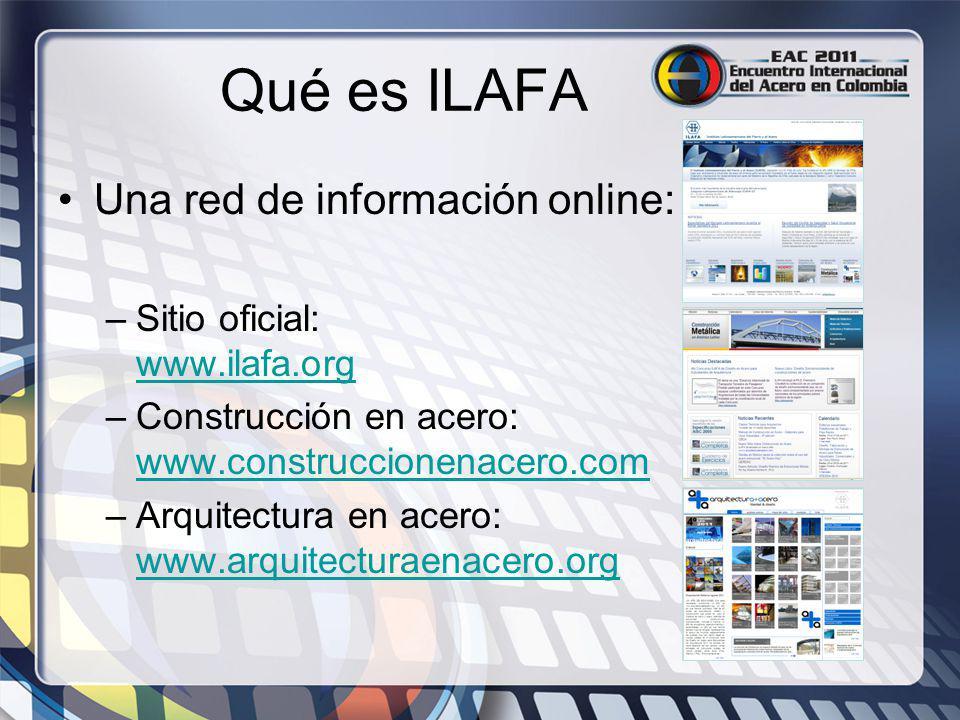 Qué es ILAFA Una red de información online: