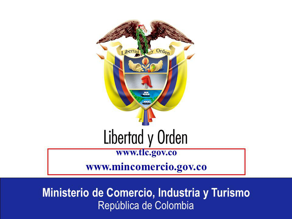 www.tlc.gov.co www.mincomercio.gov.co