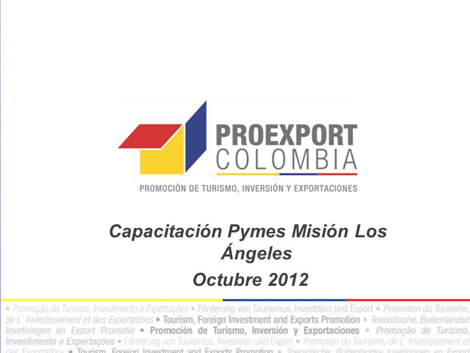 Capacitación Pymes Misión Los Ángeles Octubre 2012