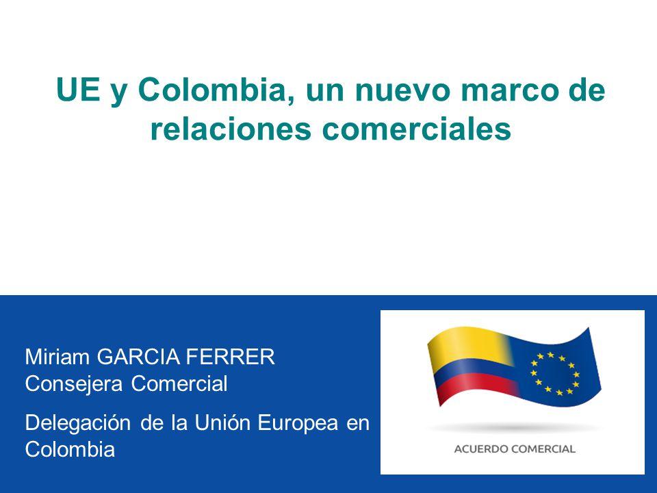 UE y Colombia, un nuevo marco de relaciones comerciales