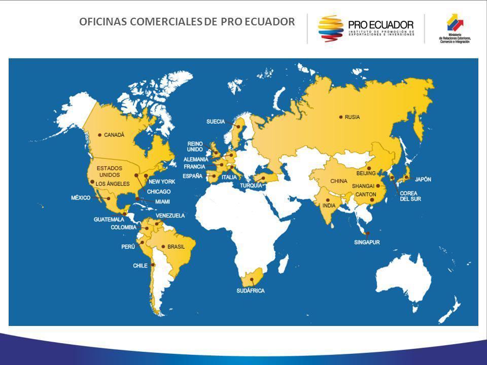 OFICINAS COMERCIALES DE PRO ECUADOR