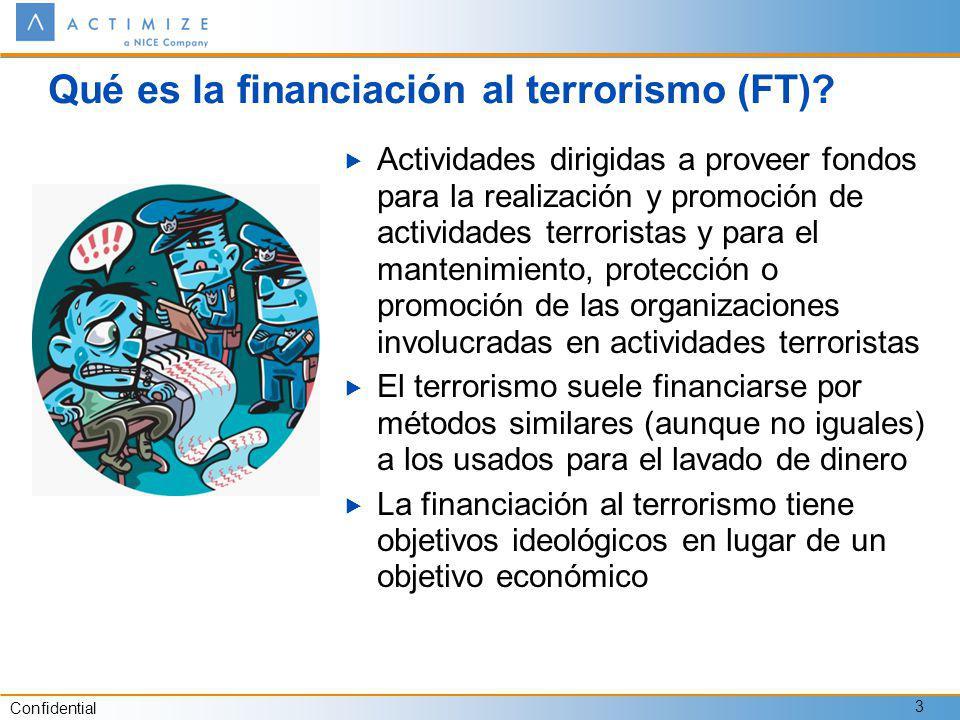 Qué es la financiación al terrorismo (FT)