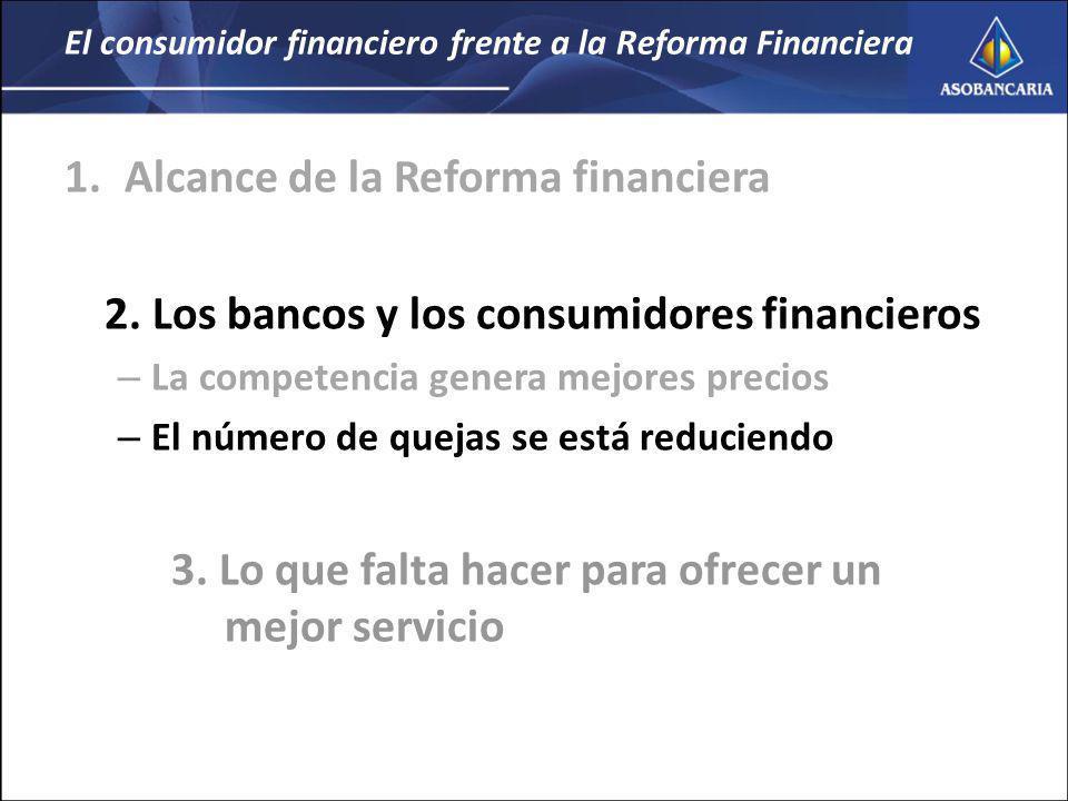 El consumidor financiero frente a la Reforma Financiera