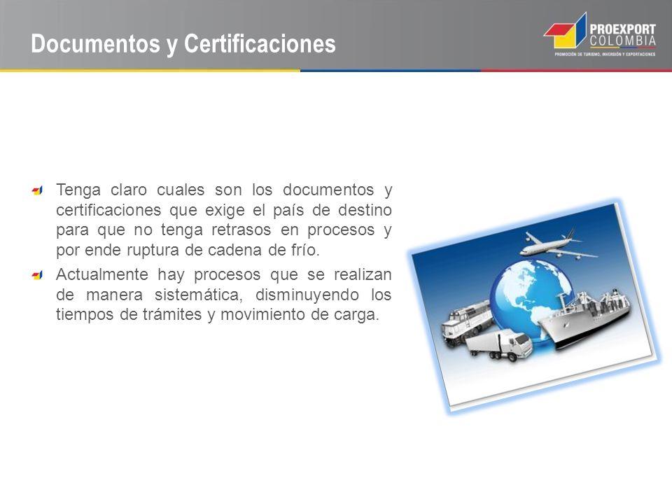 Documentos y Certificaciones