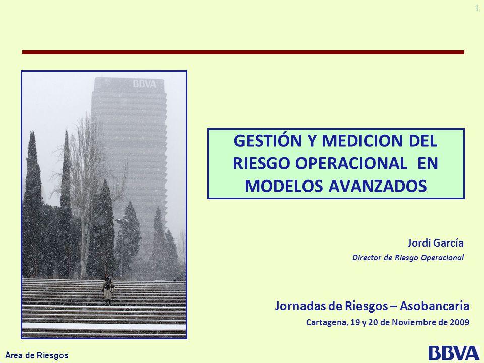 GESTIÓN Y MEDICION DEL RIESGO OPERACIONAL EN MODELOS AVANZADOS