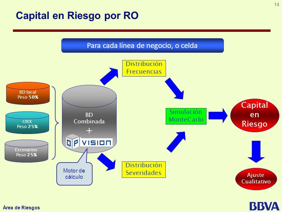 Capital en Riesgo por RO