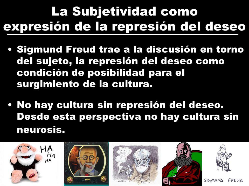 La Subjetividad como expresión de la represión del deseo