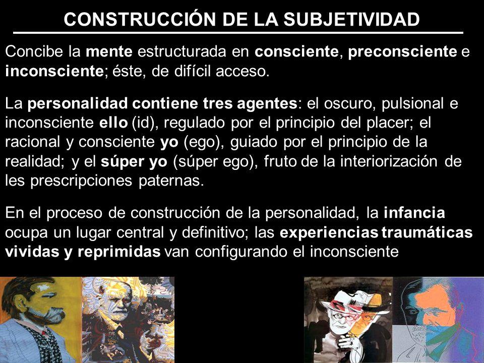 CONSTRUCCIÓN DE LA SUBJETIVIDAD