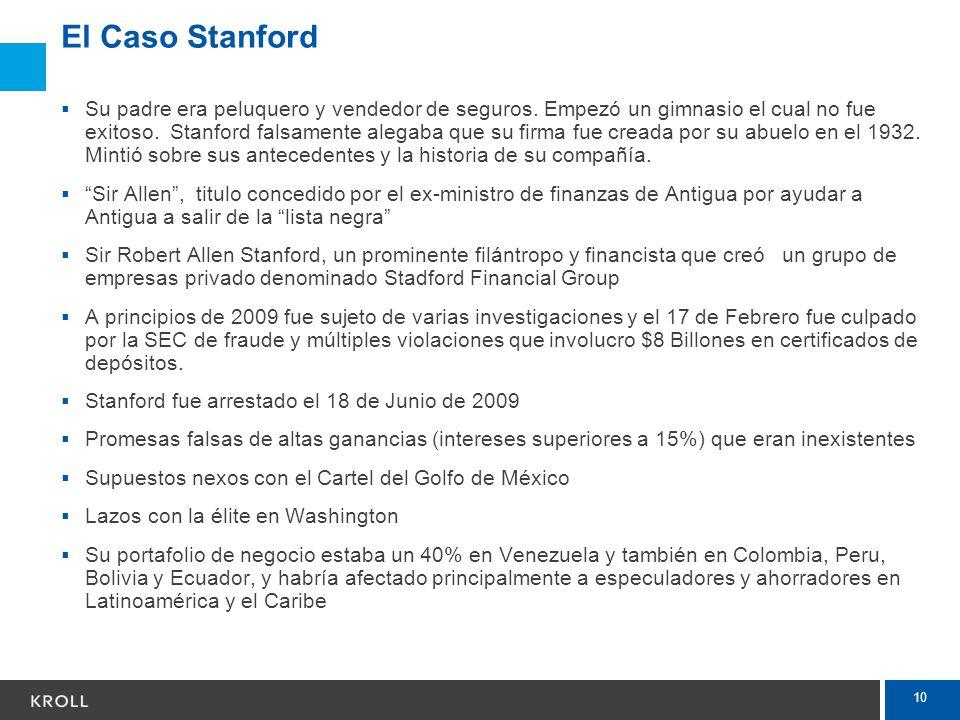 El Caso Stanford