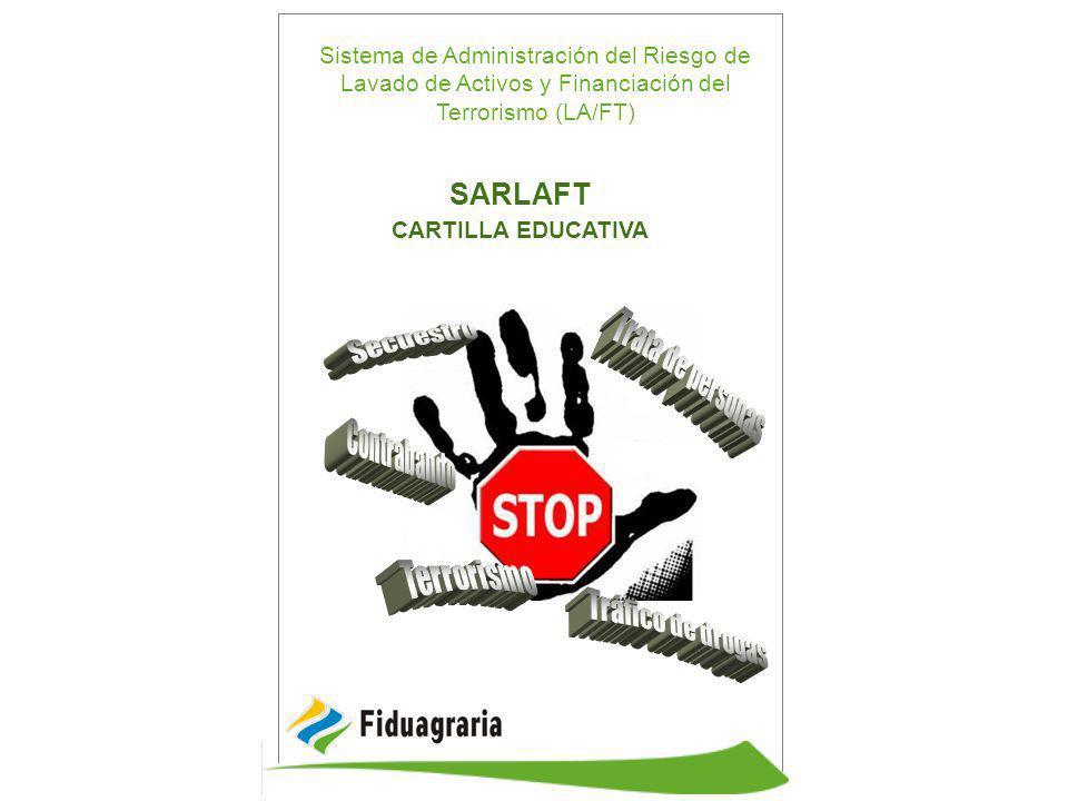 SARLAFT Secuestro Trata de personas Contrabando Terrorismo