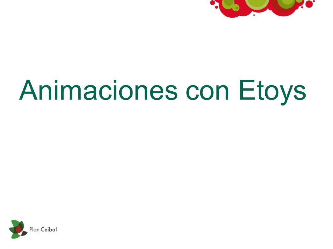 Animaciones con Etoys