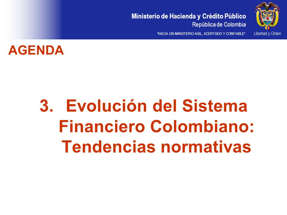 Evolución del Sistema Financiero Colombiano: Tendencias normativas