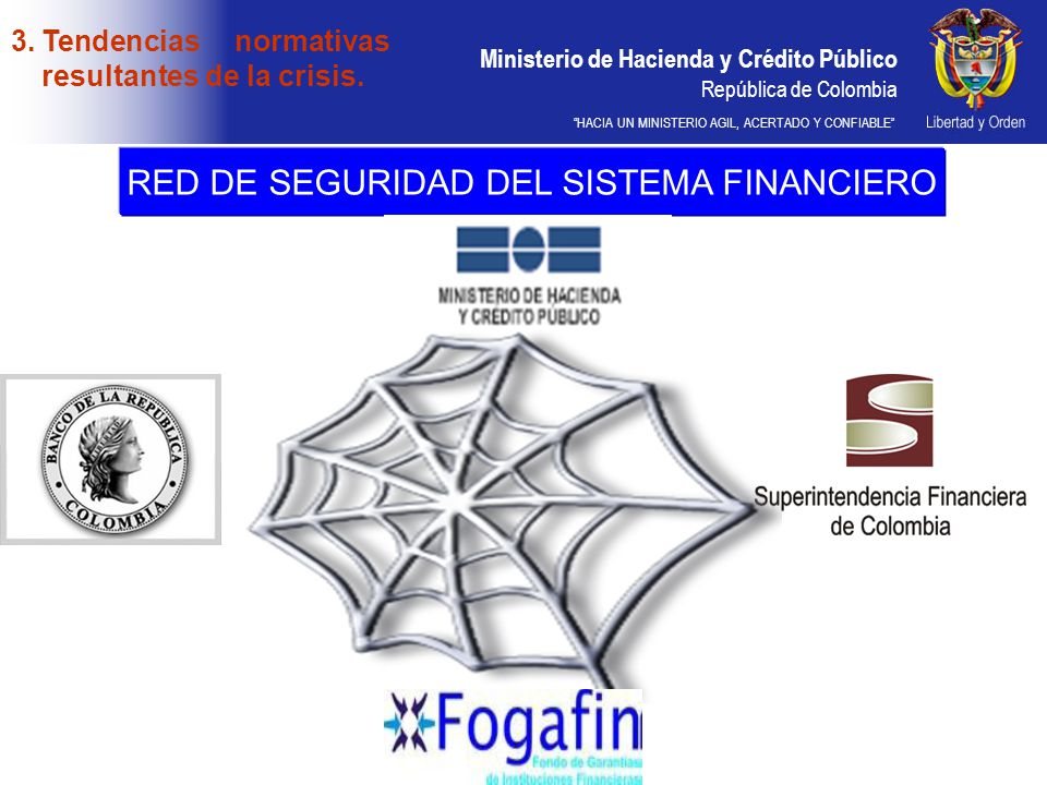 RED DE SEGURIDAD DEL SISTEMA FINANCIERO