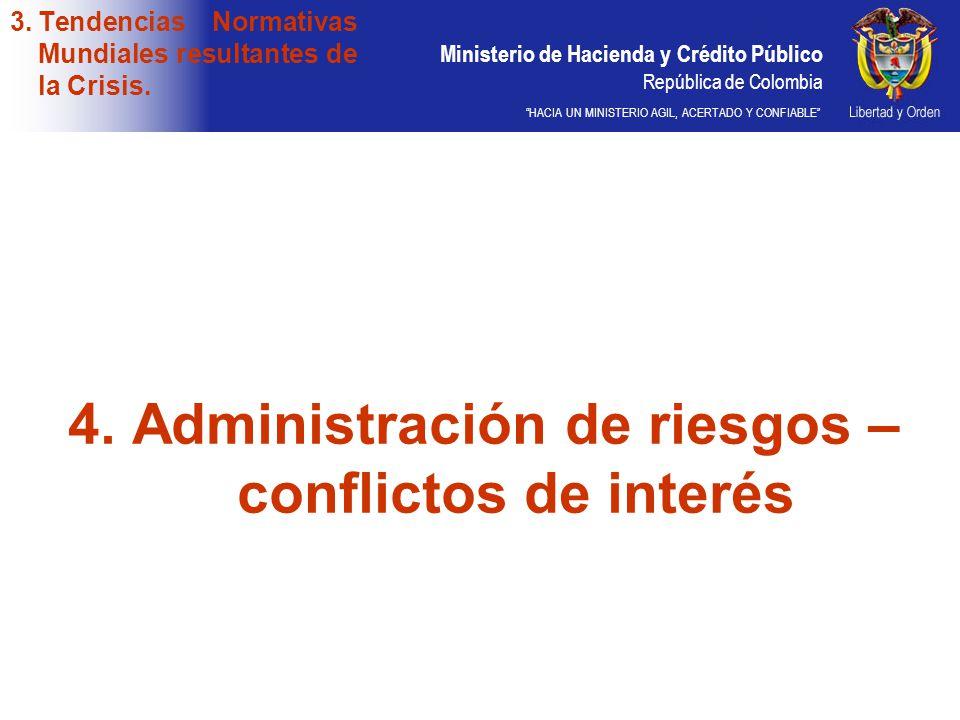 Tendencias Normativas Mundiales resultantes de la Crisis.