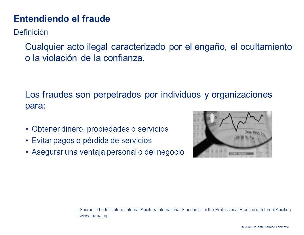 Entendiendo el fraude Definición