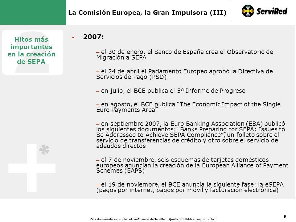 La Comisión Europea, la Gran Impulsora (IV)