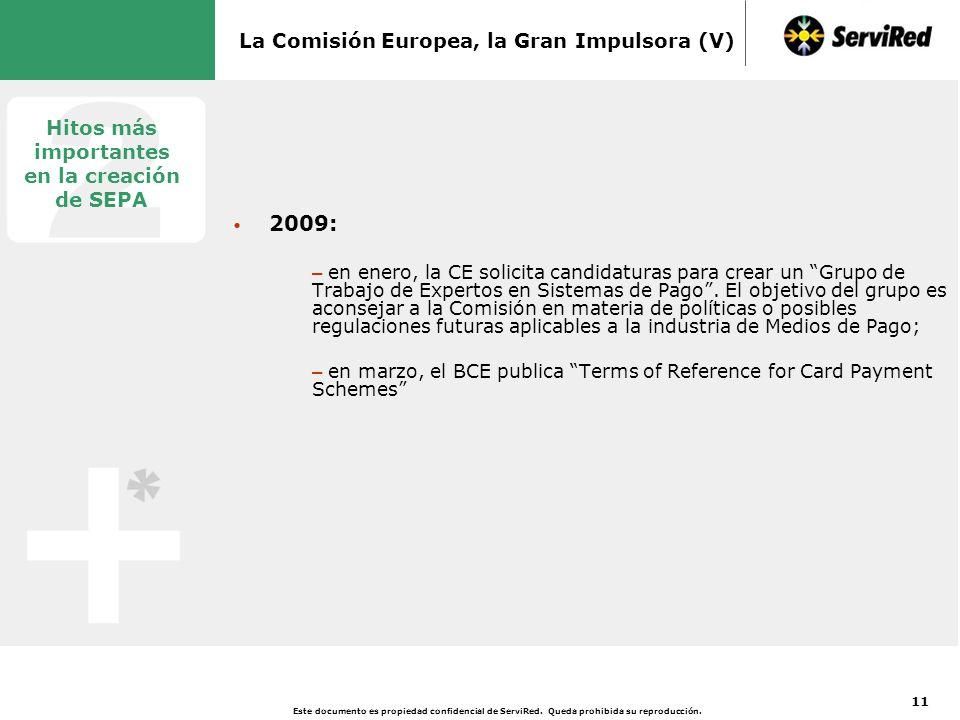 3 El papel de la Comisión Europea: un Nuevo Marco Legal