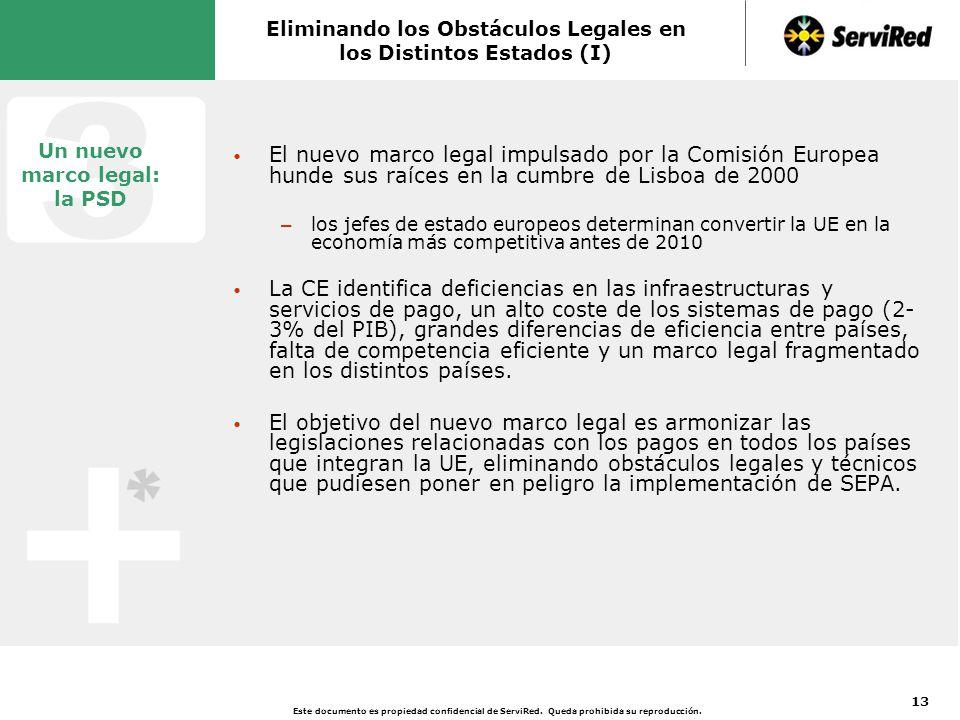 Eliminando los Obstáculos Legales en los Distintos Estados (II)