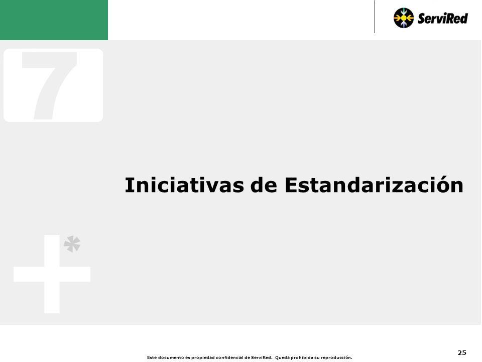 Iniciativas de Estandarización