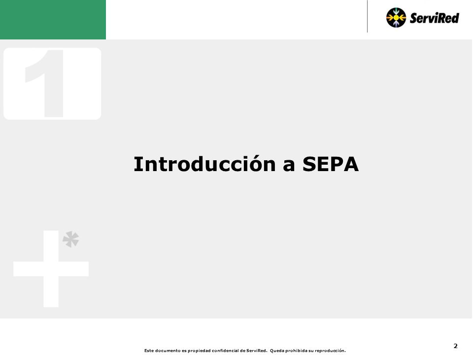 Definición de SEPA según la Comisión Europea