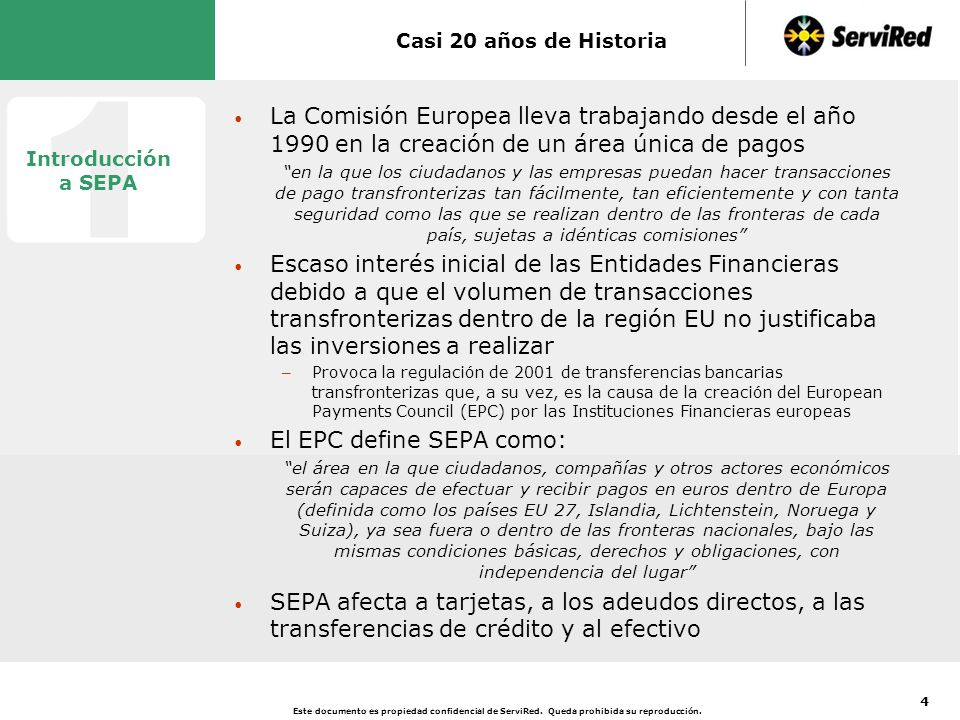 SEPA, un Proyecto Dirigido por la Industria