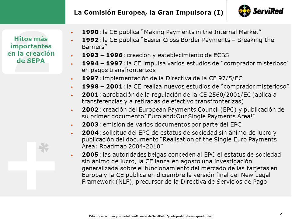 La Comisión Europea, la Gran Impulsora (II)