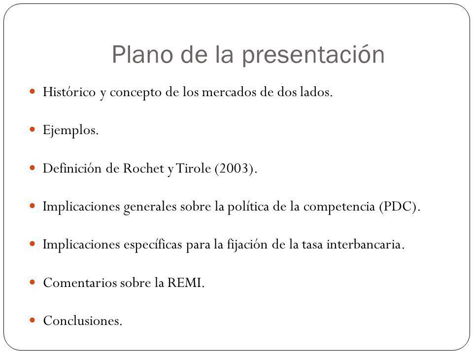 Plano de la presentación