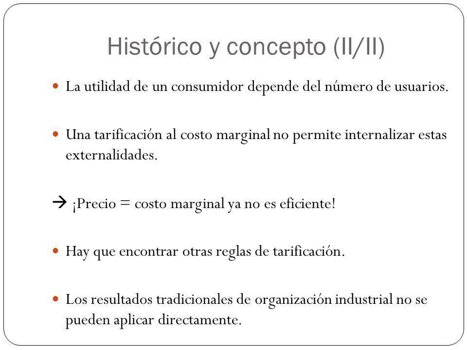 Histórico y concepto (II/II)