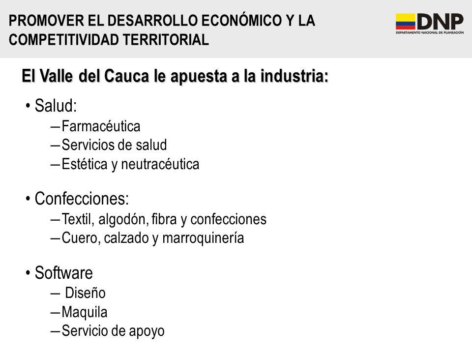 El Valle del Cauca le apuesta a la industria: