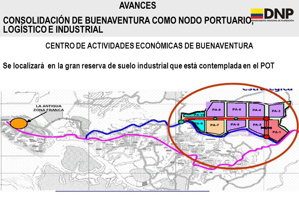 CENTRO DE ACTIVIDADES ECONÓMICAS DE BUENAVENTURA