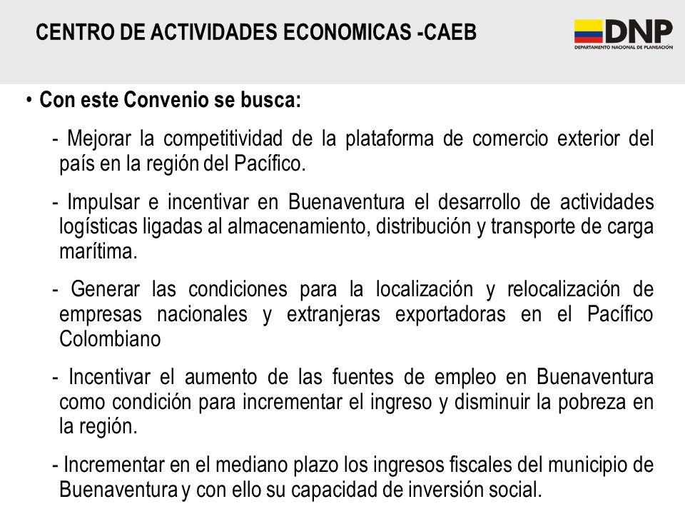 CENTRO DE ACTIVIDADES ECONOMICAS -CAEB