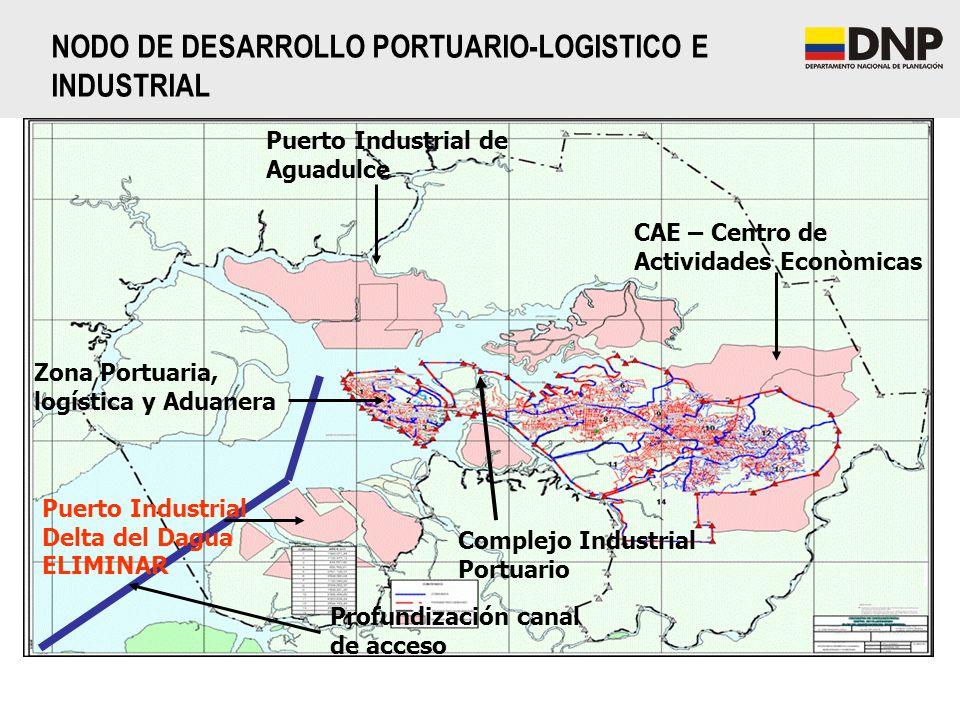 NODO DE DESARROLLO PORTUARIO-LOGISTICO E INDUSTRIAL