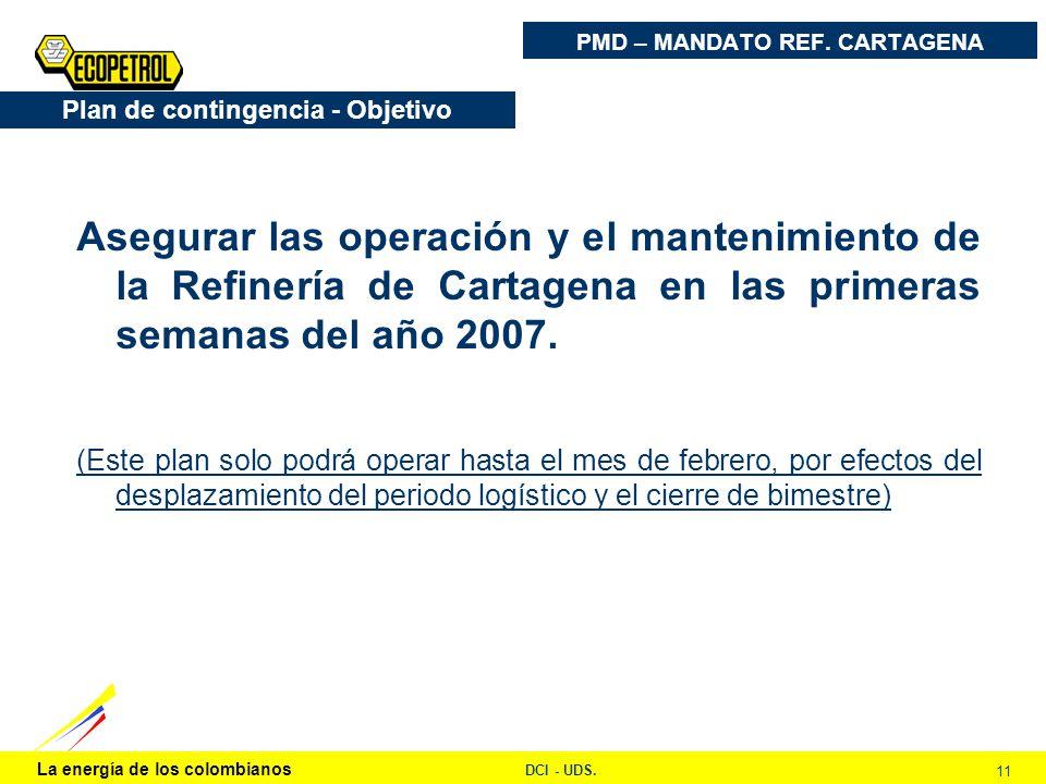 PMD – MANDATO REF. CARTAGENA