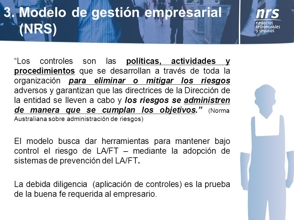 3. Modelo de gestión empresarial (NRS)