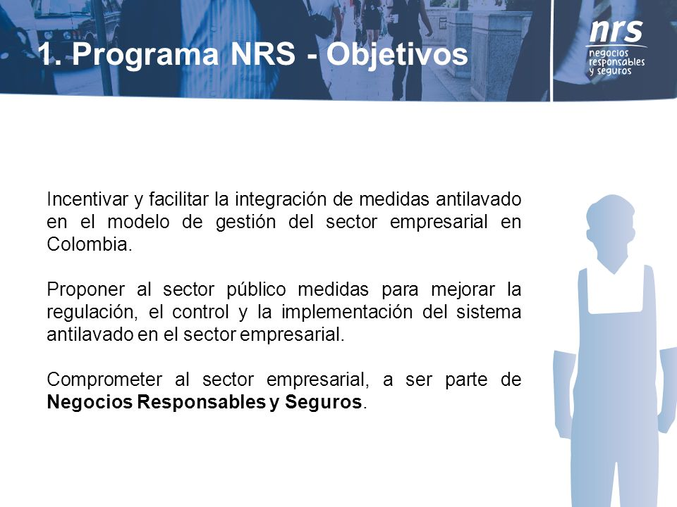 1. Programa NRS - Objetivos
