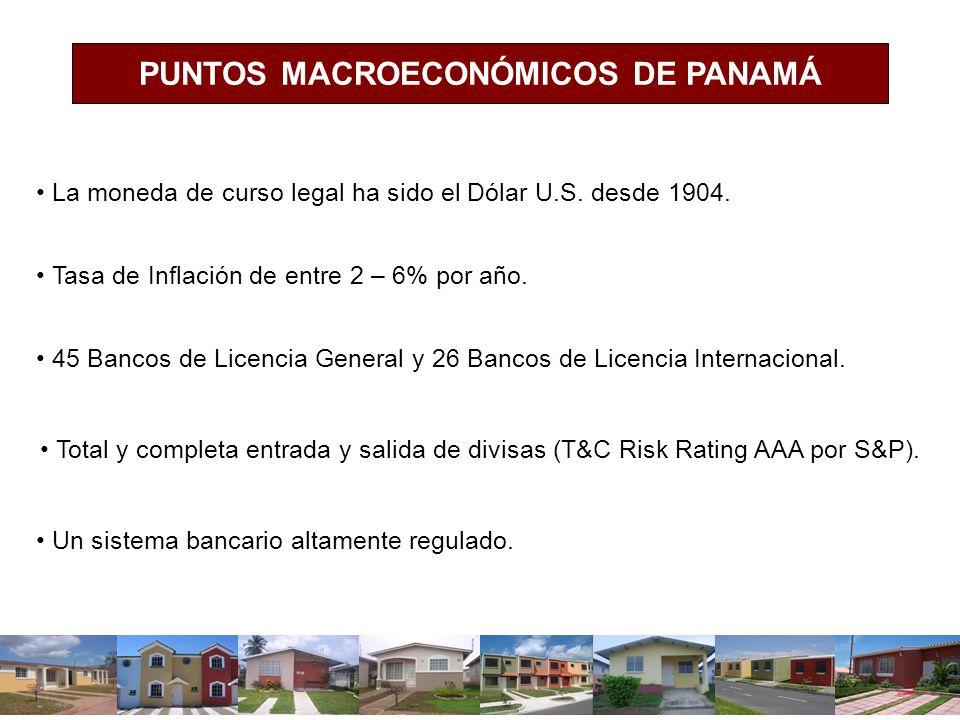 PUNTOS MACROECONÓMICOS DE PANAMÁ