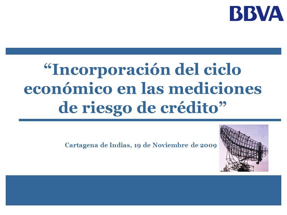 Incorporación del ciclo económico en las mediciones de riesgo de crédito