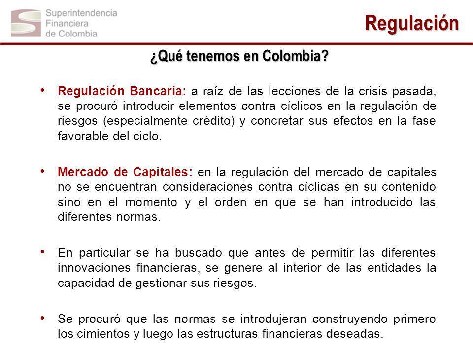 ¿Qué tenemos en Colombia