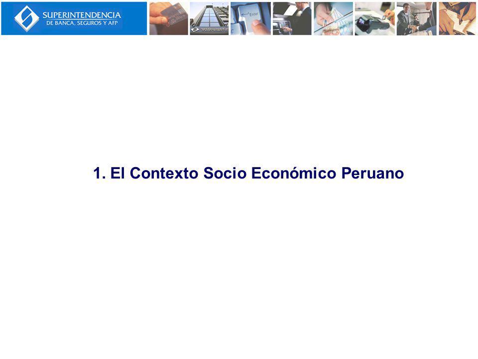 1. El Contexto Socio Económico Peruano