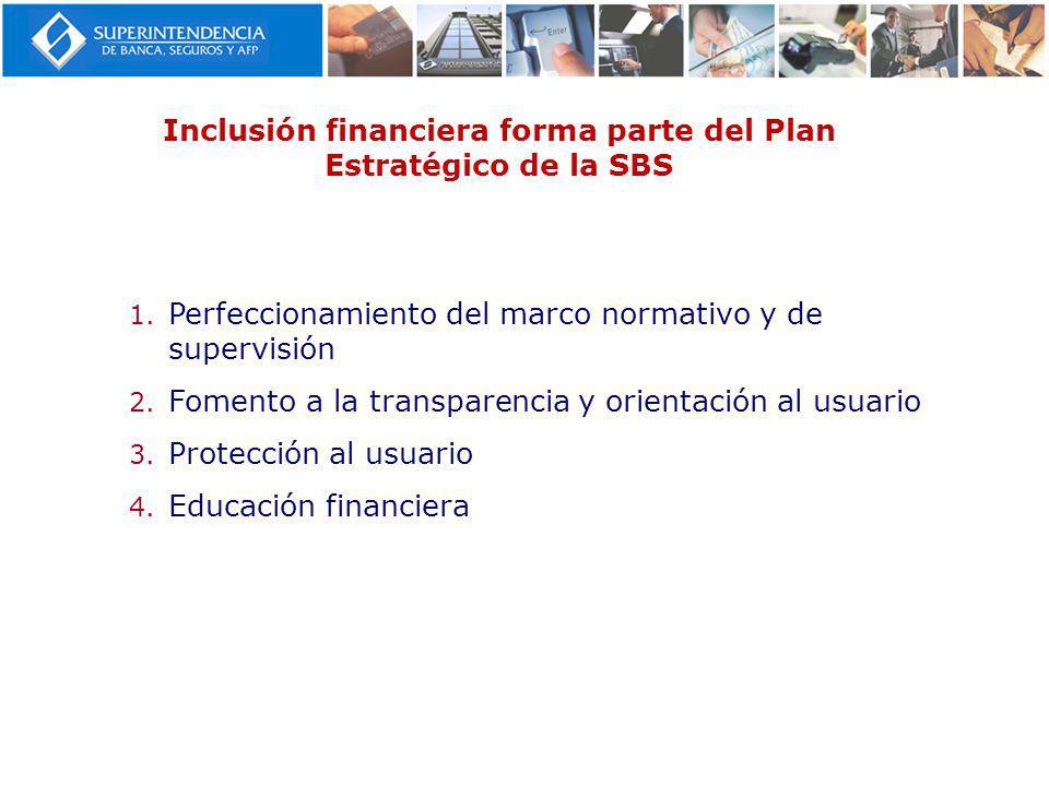 Inclusión financiera forma parte del Plan Estratégico de la SBS