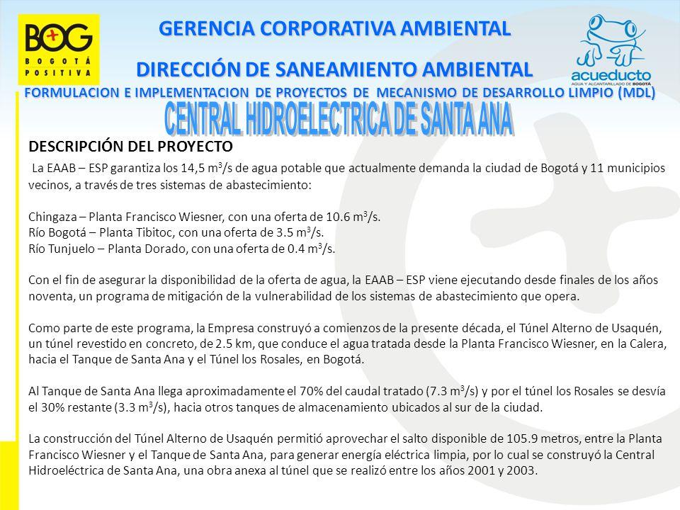 CENTRAL HIDROELECTRICA DE SANTA ANA